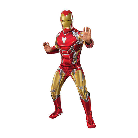 Avengers Iron Man Deluxe Adult 2-pc. Dress Up Costume Mens