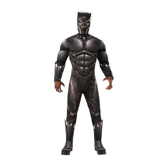 Avengers Black Panther Deluxe Adult 2-pc. Dress Up Costume Mens