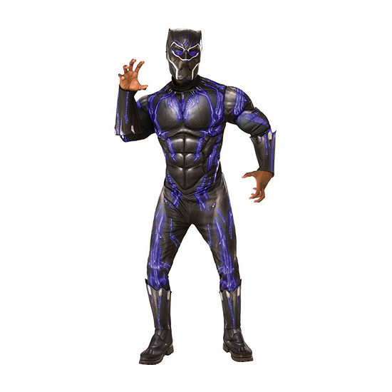 Avengers Black Panther Purple Battle Deluxe Adult  2-pc. Dress Up Costume Mens
