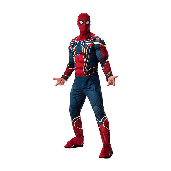 Avengers Iron Spider Deluxe Adult 2-pc. Dress Up Costume Mens