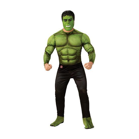 Avengers Hulk Deluxe Adult 2-pc Dress Up Costume Mens