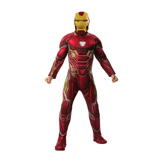 Avengers Iron Man Mark 50 Deluxe Adult 2-pc.Dress Up Costume Mens