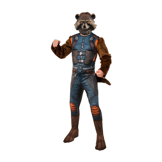 Avengers Rocket Raccoon Deluxe Adult 2-pc.Dress Up Costume Mens