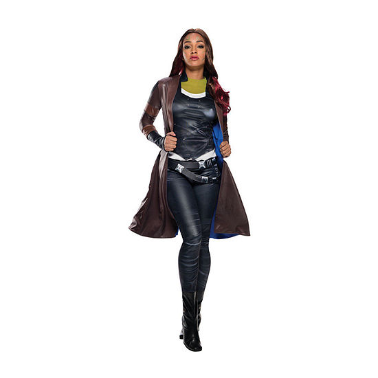 Avengers Deluxe Gamora Coat Adult Dress Up Costume Womens