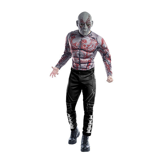 Avengers Drax Deluxe Adult 2-pc Dress Up Costume Mens