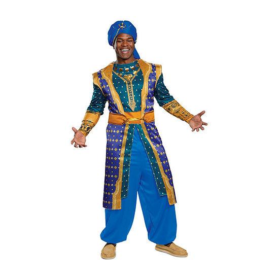 Disney Aladdin: Genie Deluxe Adult 2-pc. Dress Up Costume Mens