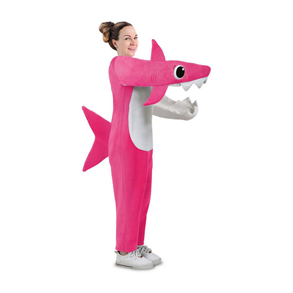 Adult Chompin' Mommy Shark With Sound Chip Unisex Costume