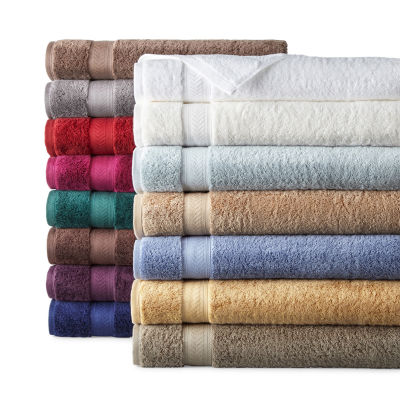 Liz Claiborne Luxury Egyptian Solid Bath Towel Set