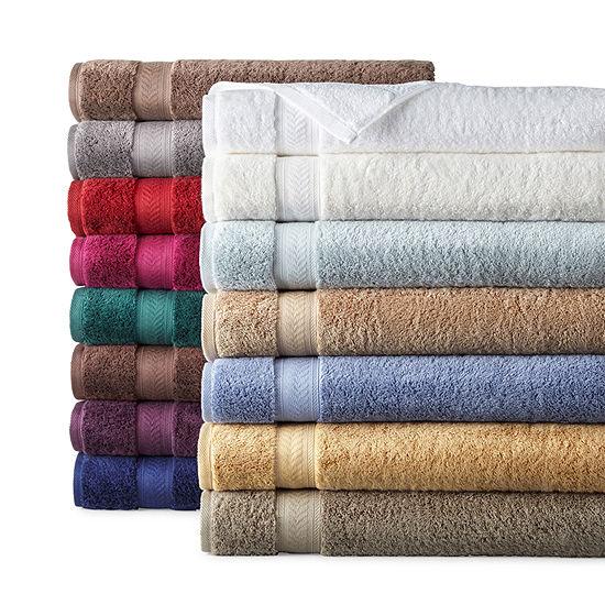 Liz Claiborne Luxury Egyptian Solid Bath Towel Set