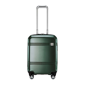 SIlver Color Option 25/% Expandable Suitcase Luggage Travelers Club 24 Original Chicago Collection Hardside