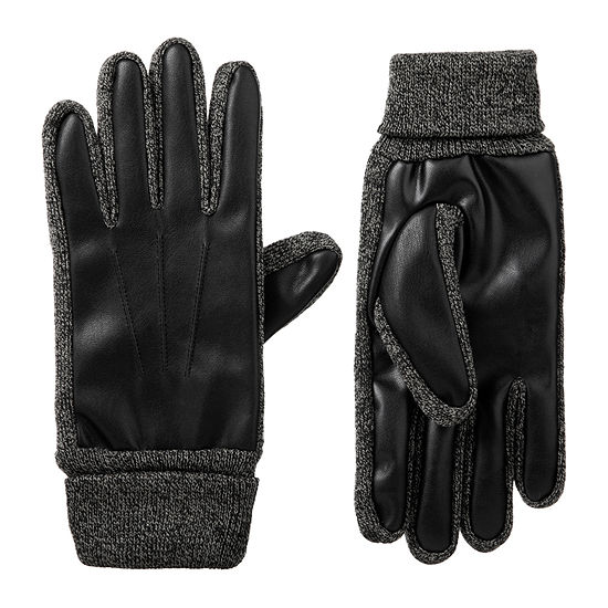 isotoner® Stretch Faux Nappa Gloves