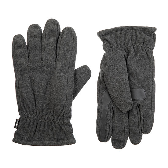 Isotoner® Smartdri Fleece Gloves with Gathered Wrist
