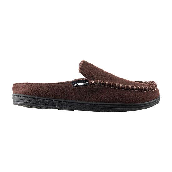 isotoner® Grady Hoodback Slippers