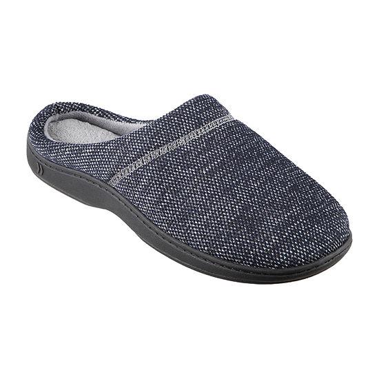Isotoner® Javier Mesh Hoodback Slippers