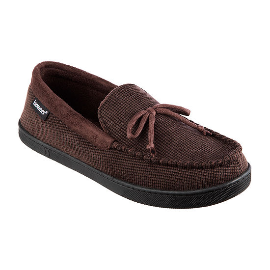 isotoner® Mini Box Cord Luke Moccasin Slippers