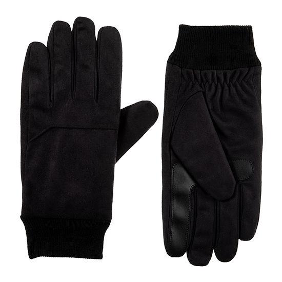 isotoner® Knit Cuff Microfiber Gloves