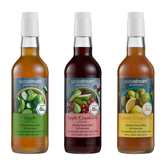 SodaStream™ Goodness Fruit Juice Drink Mix Variety Pack