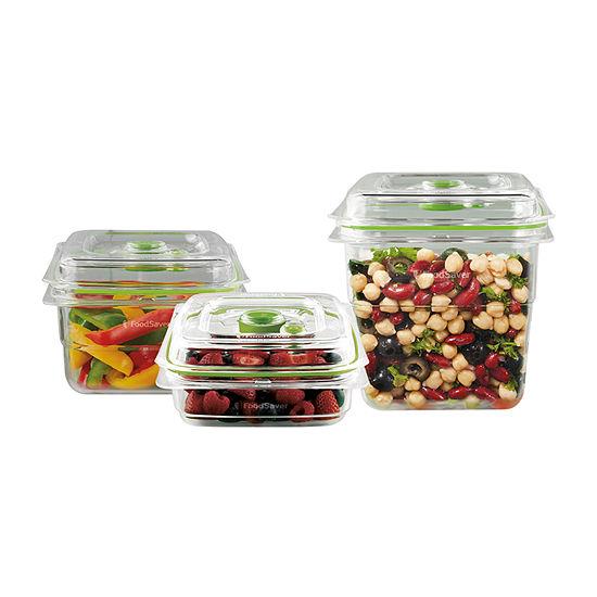 FoodSaver® Vacuum Seal Food Storage Containers, 3-Piece Set
