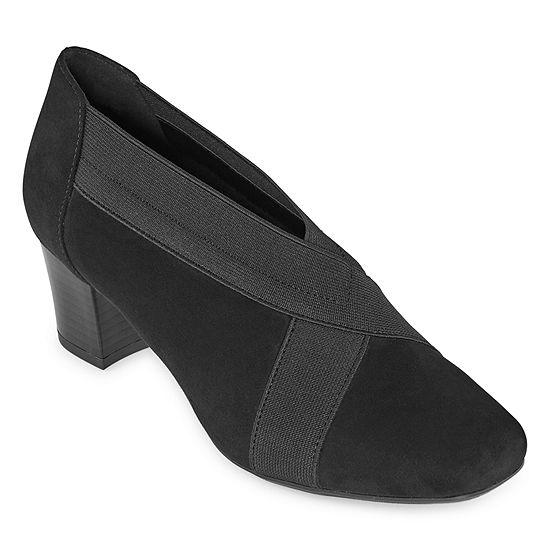 east 5th Womens Renton Booties Block Heel