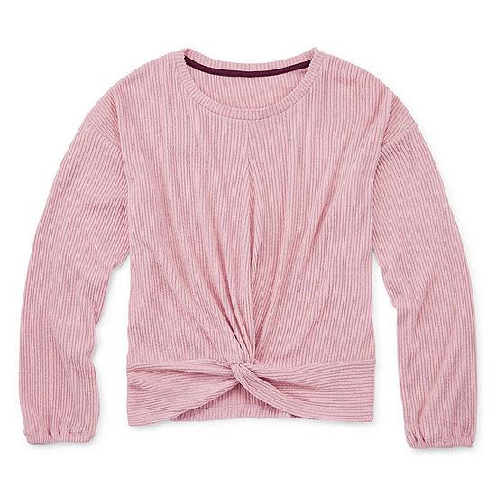 Arizona Girls Round Neck Long Sleeve T-Shirt