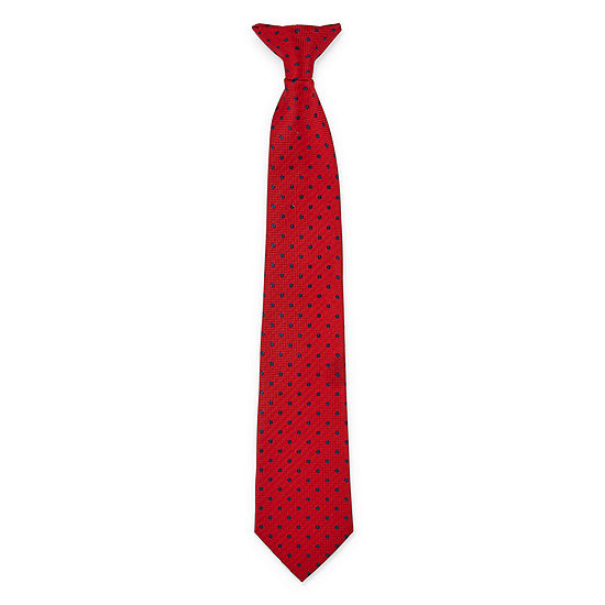 Van Heusen Dots Clip on Tie