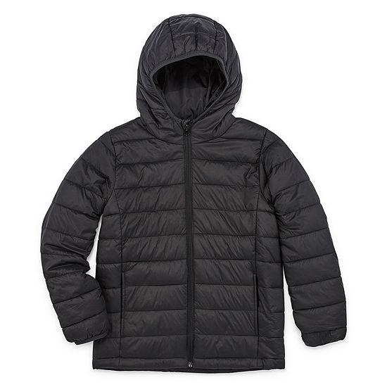 Xersion - Boys Lightweight Puffer Jacket Preschool / Big Kid