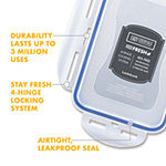 Lock & Lock 4-pc. 7.6-cup Food Container