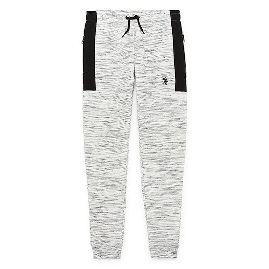 U.S. Polo Assn. Boys Cinched Jogger Pant - Big Kid