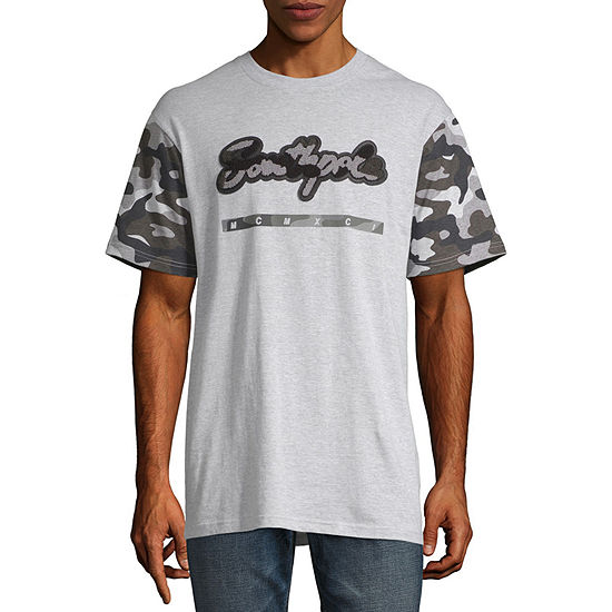 South Pole Mens Crew Neck Short Sleeve T-Shirt