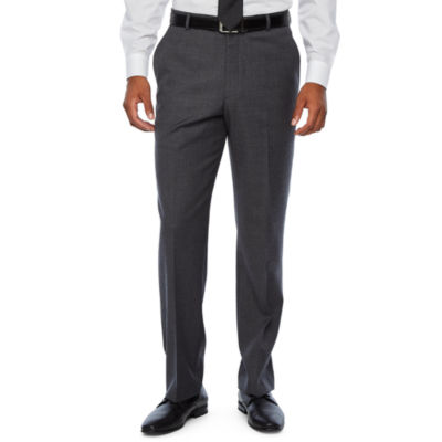 Stafford Travel Mens Striped Stretch Classic Fit Suit Pants