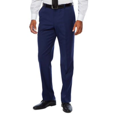 Stafford Super Striped Slim Fit Suit Pants