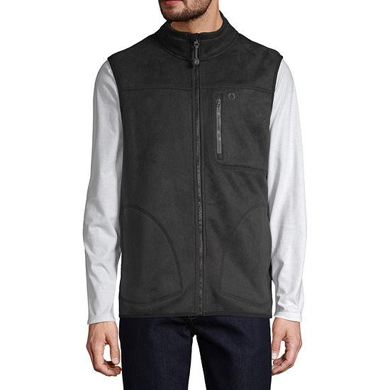 American Outdoorsman Water Repellent Fleece Mens Vest