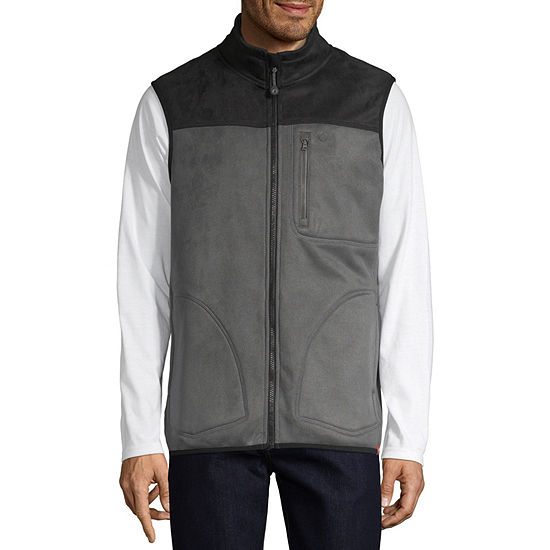 American Outdoorsman Water Repellent Fleece Mens Vest