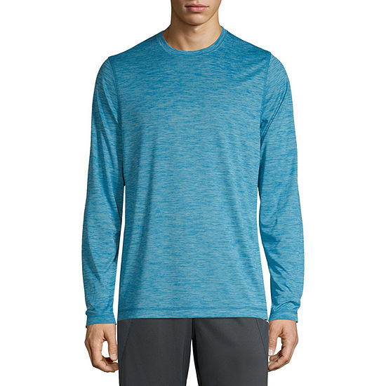 Xersion Mens Crew Neck Long Sleeve T-Shirt