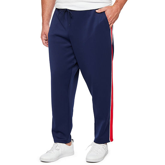 The Foundry Big & Tall Supply Co. Mens Mid Rise Regular Fit Track Pant-Big and Tall