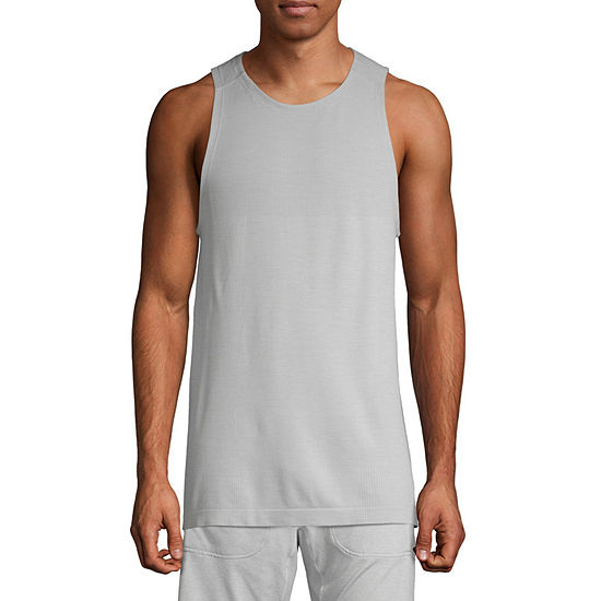 Msx By Michael Strahan Mens Crew Neck Sleeveless Tank Top