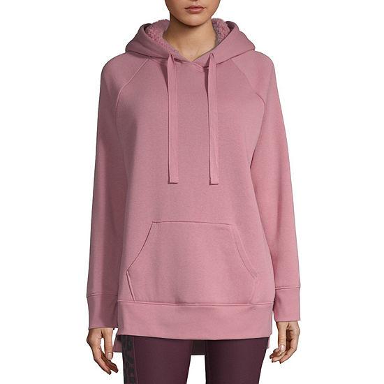 Xersion Womens Long Sleeve Fleece Hoodie