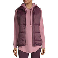 JCPenney deals on Xersion Puffer Womens Vest