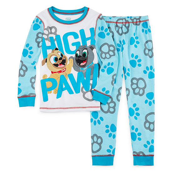 Disney Puppy Dog Pals Pajama Set Boys