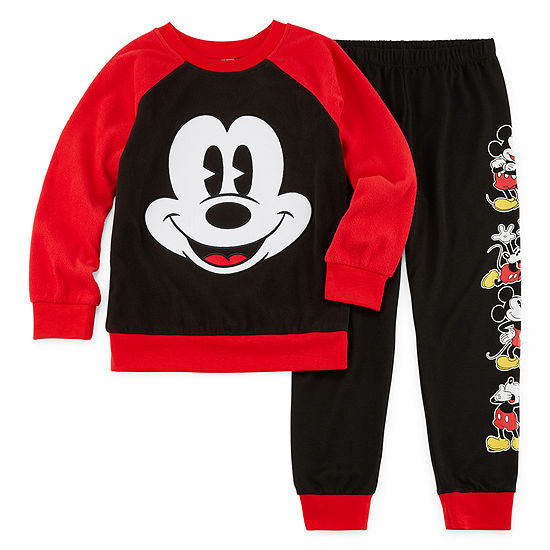 Disney Mickey Mouse Pajama Set Boys