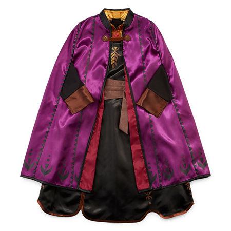 Disney Collection Frozen 2 Anna Girls Costume, 5/6 , Purple