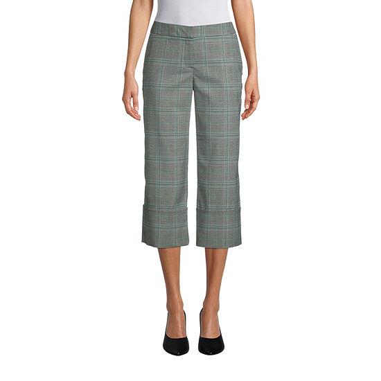 Worthington Womens High Cuff Trouser - Tall