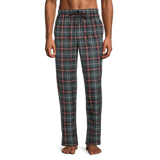 St. John's Bay Mens Fleece Pajama Pants