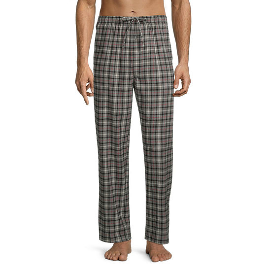 St. John's Bay Men's Flannel Rolled Pajama Pants