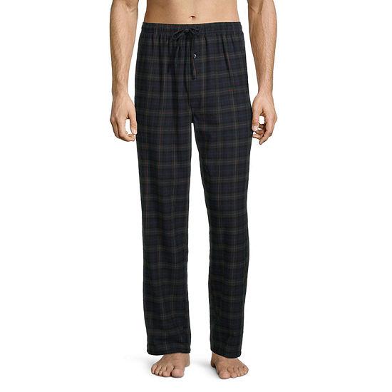 St. John's Bay Men's Flannel Rolled Pajama Pants
