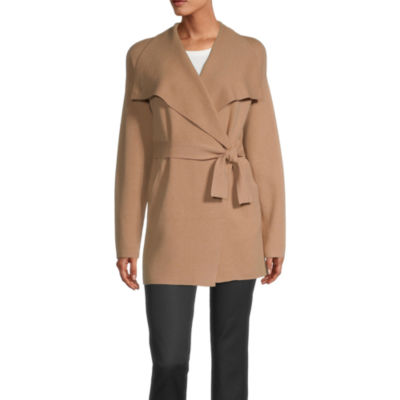 Liz Claiborne Knit Midweight Overcoat