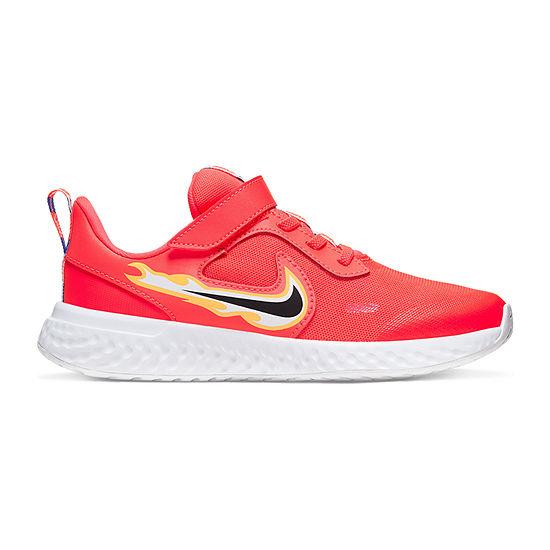 Nike Revolution 5 Fire Little Kids Boys Running Shoes