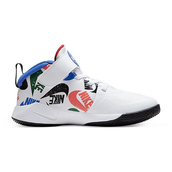 Nike Hustle D 9 Little Kids Boys Basketball Shoes