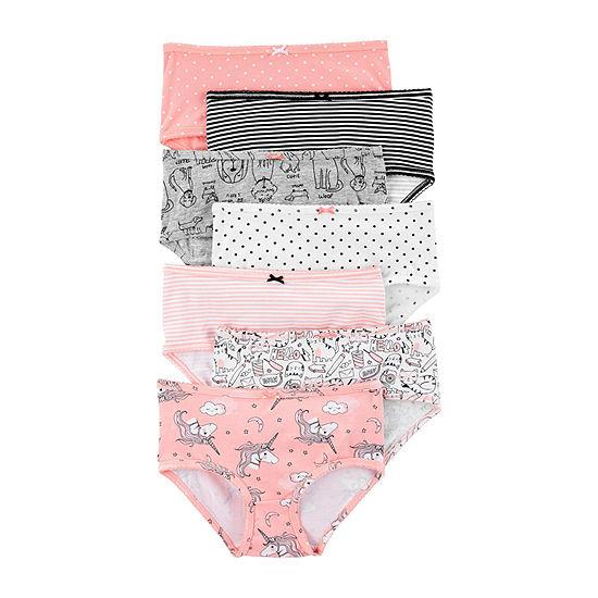 Carter's Toddler Girls 7 Pack Brief Panty