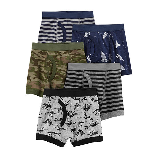 Carter's Toddler Boys 5 Pack Boxer Briefs